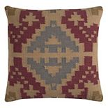 Rizzy Home Southwestern I Wool Blend Throw Pillow