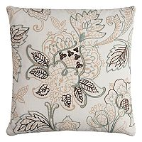 Rizzy Home Floral I Throw Pillow