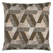 Rizzy Home Geometric Textured Throw Pillow