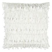 Rizzy Home Deconstructed Ball Accent Throw Pillow