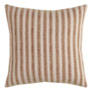 Rizzy Home Ticking Stripe Throw Pillow