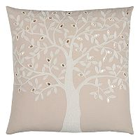 Rizzy Home Tree Throw Pillow