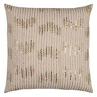 Rizzy Home Geometric Stripe Throw Pillow