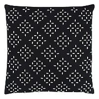 Rizzy Home Diamond Geometric Throw Pillow