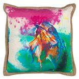 Rizzy Home Bold Bird Throw Pillow