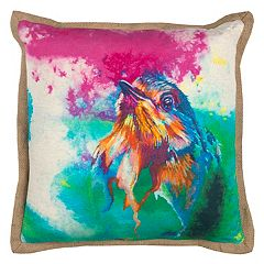 Rizzy Home Bold Bird Throw Pillow