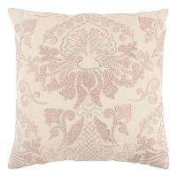 Rizzy Home Subtle Floral Throw Pillow