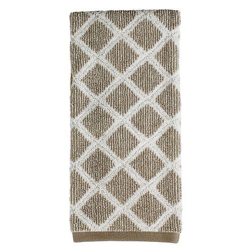 Saturday Knight, Ltd. Davidson Diamond Hand Towel