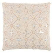 Rizzy Home Deconstructed Star Geometric Throw Pillow