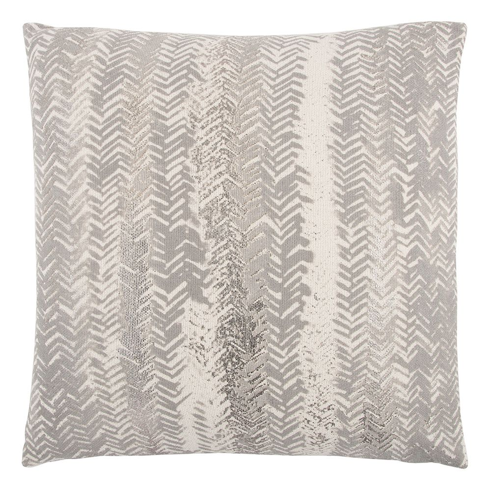 Rizzy Home Vertical Chevron Stripe Throw Pillow