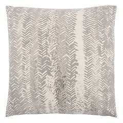 Rizzy Home Vertical Chevron Stripe Throw Pillow