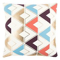 Rizzy Home Geometric Stripes Throw Pillow