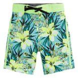Toddler Boy Hurley Garden Floral Board Shorts