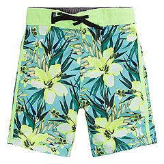 Toddler Boy Hurley Garden Floral Board Shorts