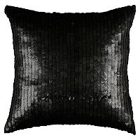 Rizzy Home Sequined Solid Throw Pillow