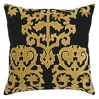 Rizzy Home Bold Damask Throw Pillow