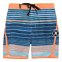 Toddler Boy Hurley Peter Striped Board Shorts