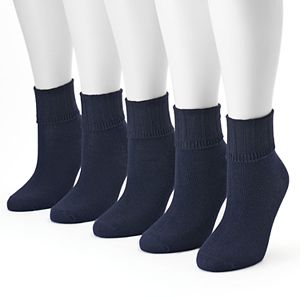 Women's SONOMA Goods for Life® 5-pk. Ribbed Cuff Crew Socks