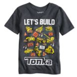 "Toddler Boy Jumping Beans® ""Let's Build Tonka"" Graphic Tee"
