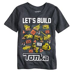 Toddler Boy Jumping Beans® 'Let's Build Tonka' Graphic Tee