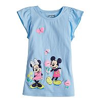 Disney's Mickey Mouse & Minnie Mouse Girls 4-10 Flutter Tee by Jumping Beans®