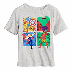 Toddler Boy Jumping Beans® Avengers Grid Graphic Tee