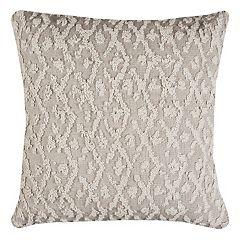 Rizzy Home Textured Lattice Throw Pillow