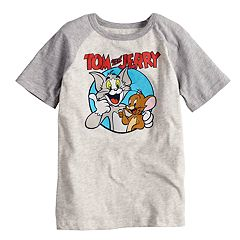 Boys 4-10 Jumping Beans® Tom and Jerry Best Buds Raglan Graphic Tee