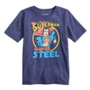 "Boys 4-10 Jumping Beans® DC Comics Superman ""Man Of Steel"" Graphic Tee"