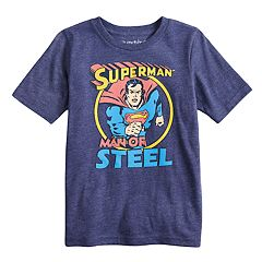 Boys 4-10 Jumping Beans® DC Comics Superman 'Man Of Steel' Graphic Tee