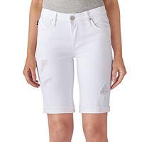 Women's Rock & Republic® Kristy Cuffed Bermuda Jean Shorts