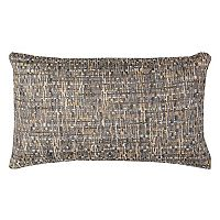 Rizzy Home All Over Threaded Pattern Oblong Throw Pillow