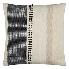 Rizzy Home Vertical Stripe Kilim Throw Pillow
