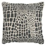Rizzy Home Animal Print Throw Pillow