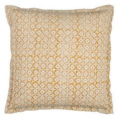 Rizzy Home Geometric Solid Throw Pillow