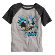 Boys 4-10 Jumping Beans® DC Comics Batman Blast Raglan Graphic Tee