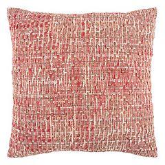 Rizzy Home Allover Threaded Throw Pillow