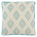 Rizzy Home Woven Diamond Geometric Throw Pillow