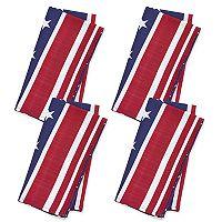 Celebrate Americana Together Stars & Stripes Napkin 4-pack