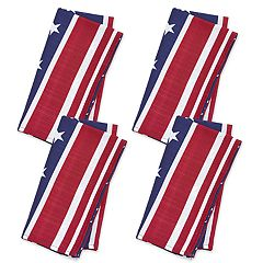 Celebrate Americana Together Stars & Stripes Napkin 4-pack