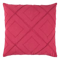Rizzy Home Deconstructed Diamond Lattice Throw Pillow