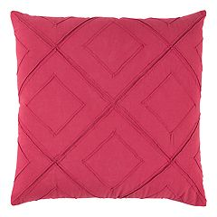 Rizzy Home Deconstructed Diamond Lattice Throw Pillow