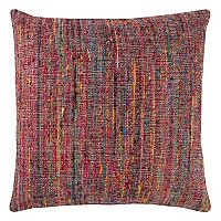 Rizzy Home Textured Woven Stripe Throw Pillow