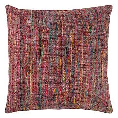 Rizzy Home Textured Woven Stripe Throw Pillow