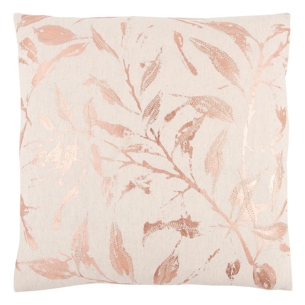 Rizzy Home Metallic Branch Throw Pillow