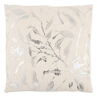 Rizzy Home Metallic Branch Throw Pillow