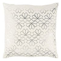 Rizzy Home Geometric Metallic II Throw Pillow
