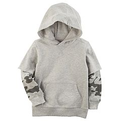 Toddler Boy Carter's Mock Layer Hoodie