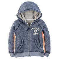 Toddler Boy Carter's Athletic Dept. Marled Zip Hoodie