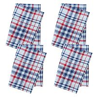 Celebrate Americana Together Plaid Napkin 4-pack